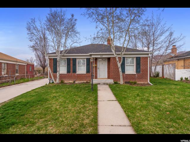 Home for sale at 2035 E Stratford Dr, Salt Lake City, UT 84109. Listed at 424900 with 3 bedrooms, 2 bathrooms and 1,682 total square feet
