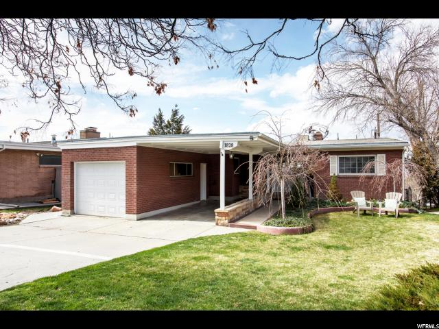 Home for sale at 1828 S 2600 East, Salt Lake City, UT  84108. Listed at 650000 with 4 bedrooms, 2 bathrooms and 3,088 total square feet
