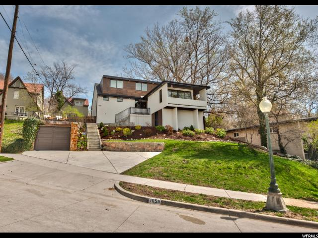 Home for sale at 1055 S 1200 East, Salt Lake City, UT 84105. Listed at 879000 with 4 bedrooms, 4 bathrooms and 3,066 total square feet