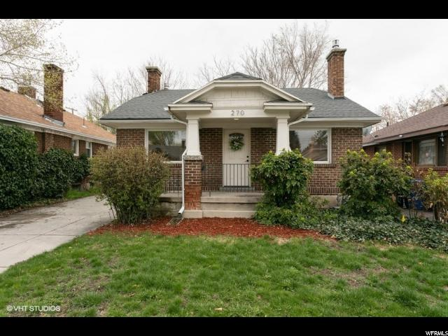 Home for sale at 270 E Wilson Ave, Salt Lake City, UT 84115. Listed at 325000 with 2 bedrooms, 1 bathrooms and 1,609 total square feet