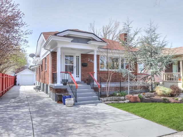 Home for sale at 256 E Belmont Ave, Salt Lake City, UT 84111. Listed at 439900 with 4 bedrooms, 2 bathrooms and 2,080 total square feet