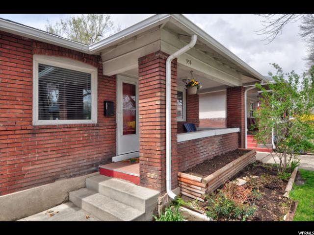 Home for sale at 954 S Denver St, Salt Lake City, UT 84111. Listed at 329500 with 2 bedrooms, 1 bathrooms and 1,576 total square feet