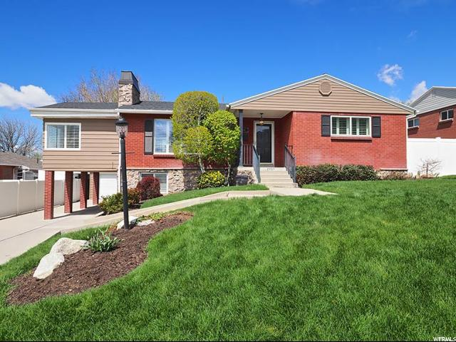 Home for sale at 2131 E Terra Linda Dr, Holladay, UT 84124. Listed at 519900 with 4 bedrooms, 2 bathrooms and 3,383 total square feet