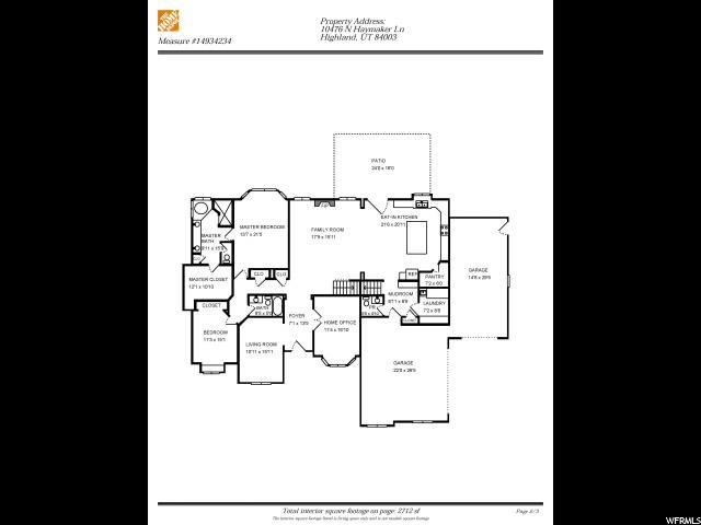Main Level Floor Plans