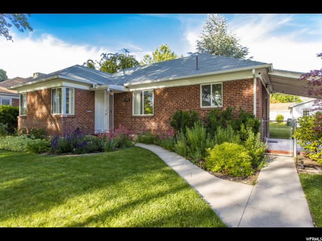Home for sale at 1575 S 800 East, Salt Lake City, UT  84105. Listed at 479500 with 4 bedrooms, 2 bathrooms and 1,976 total square feet