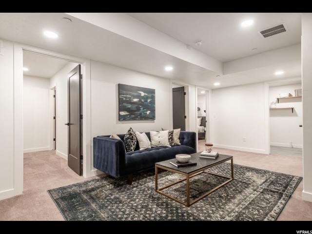 basement lower level family room