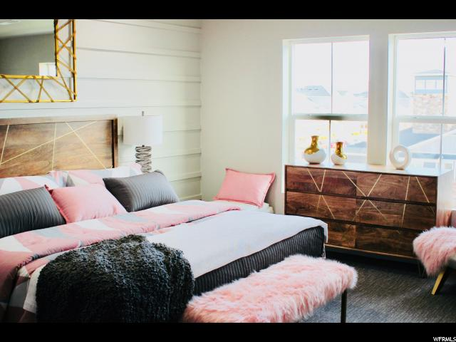 Staged Model - 3rd Floor Master Bedroom