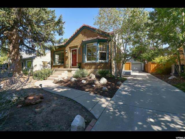 Home for sale at 1669 E Garfield Ave, Salt Lake City, UT  84105. Listed at 550000 with 3 bedrooms, 2 bathrooms and 1,860 total square feet