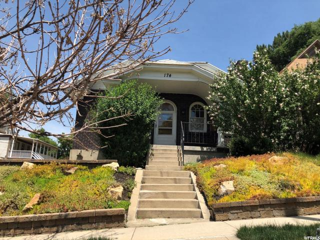 Home for sale at 174 W 600 North, Salt Lake City, UT  84103. Listed at 300000 with 3 bedrooms, 1 bathrooms and 1,872 total square feet