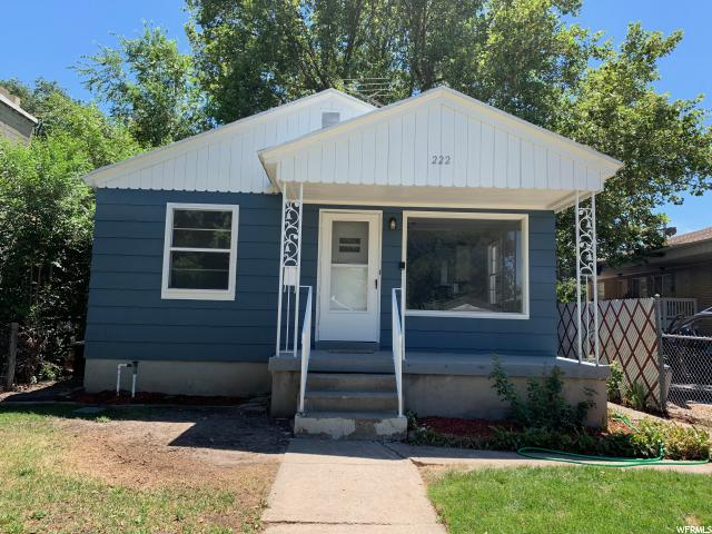 Home for sale at 222 E Edith Ave, Salt Lake City, UT  84111. Listed at 394900 with 4 bedrooms, 2 bathrooms and 1,632 total square feet