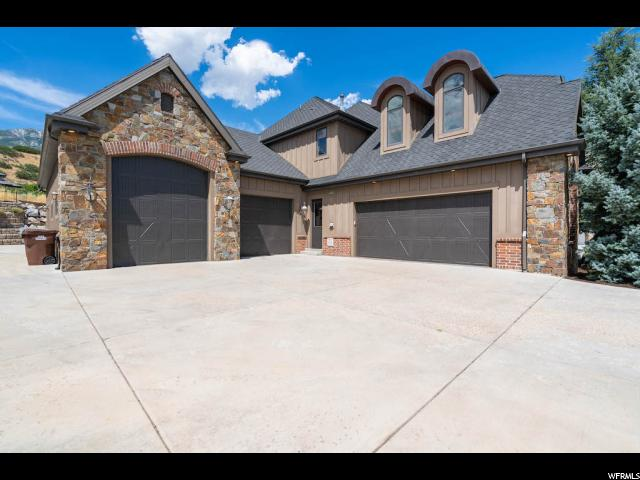 Attached Garages and Storage - 5 Car with Extra Space