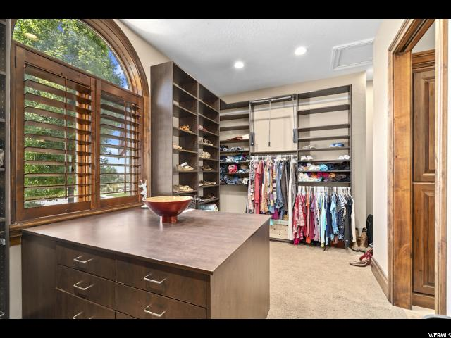 Master Closet with Views