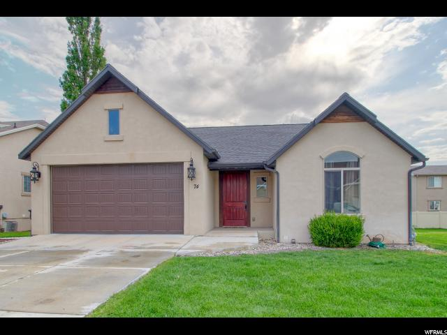 74 W LAKE TERRACE RD, Saratoga Springs UT 84045