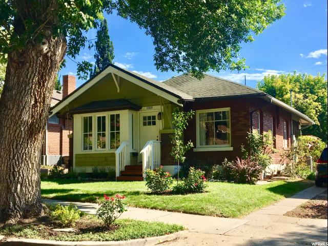 1168 E SHERMAN AVE, Salt Lake City UT 84105