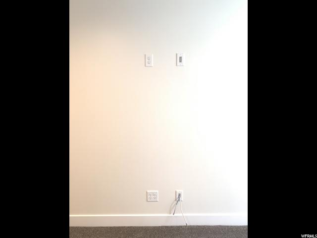 Audio Visual In-wall connections: To hide TV component cords