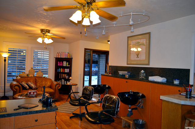 Lovely Living Room. Currently used as Licensed Salon