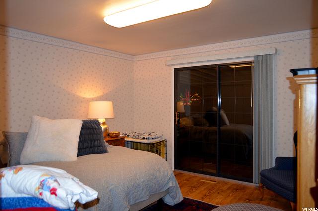 Lovely Master Bedroom Opens to Large Back Deck