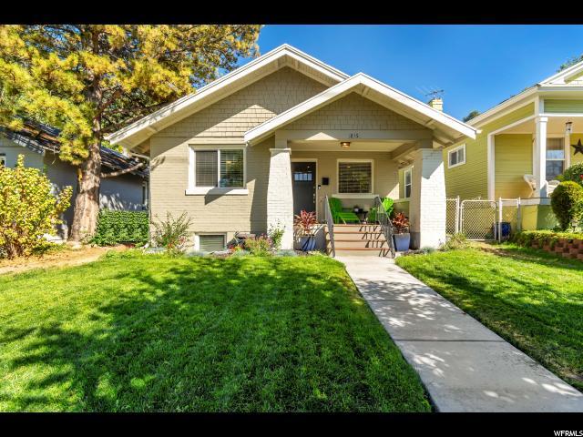 815 MCCLELLAND ST, Salt Lake City, Utah 84102, 3 Bedrooms Bedrooms, ,1 BathroomBathrooms,Single Family,For Sale,MCCLELLAND,1633486