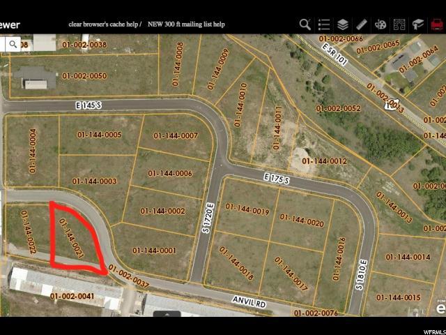 1654 E ANVIL RD, Hyrum, Utah 84319, ,Industrial,For Sale,ANVIL,1633572