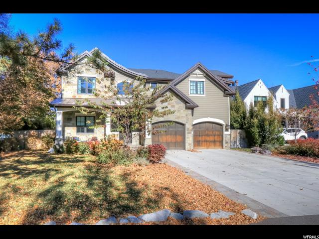 Home for sale at 1605 E Millcreek Way, Millcreek, UT  84106. Listed at 1875000 with 5 bedrooms, 5 bathrooms and 6,091 total square feet