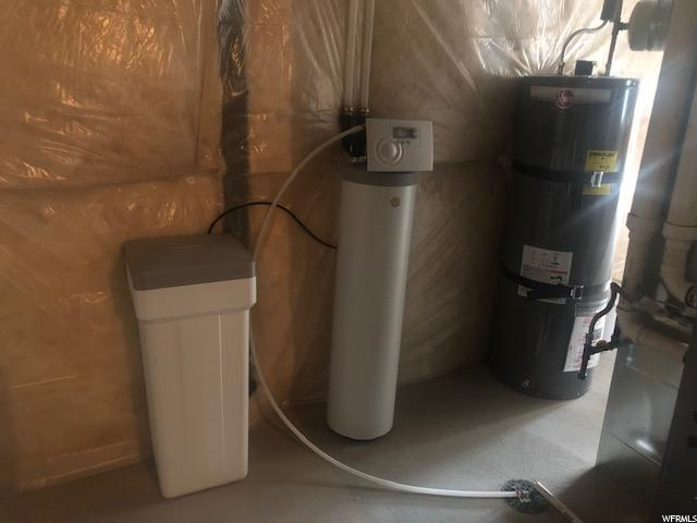 Soft Water system; 50 gallon heater