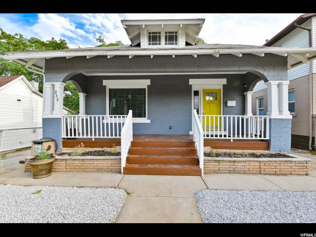 Home for sale at 256 E 700 South, Salt Lake City, UT 84111. Listed at 398000 with 4 bedrooms, 2 bathrooms and 2,414 total square feet