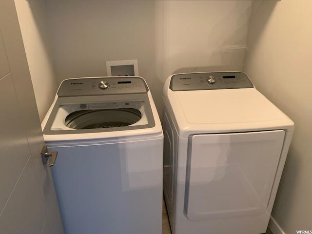 Laundry: New washer and dryer