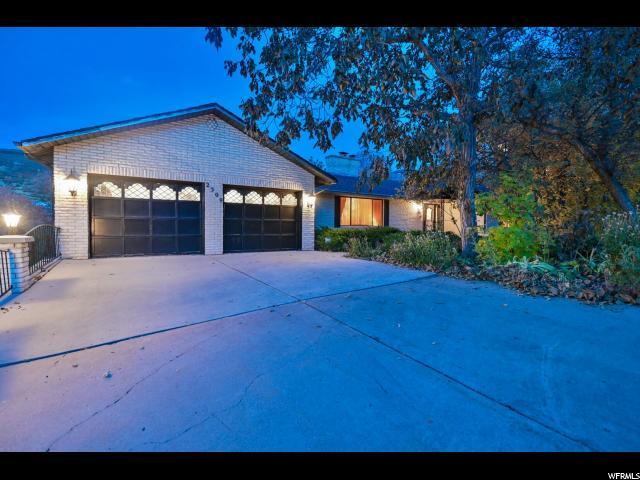 2309 S CAVE HOLLOW WAY, Bountiful UT 84010