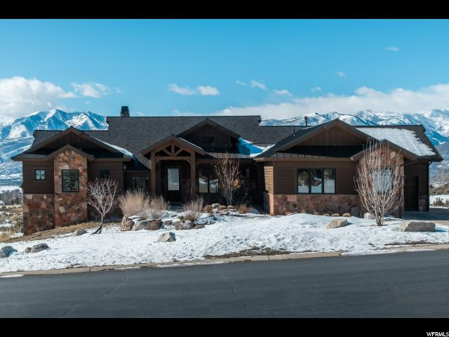 1191 N CHIMNEY ROCK RD (LOT 42) Unit 42, Heber City UT 84032