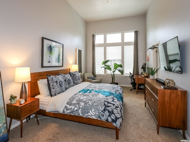Master Bedroom: You must see these tall ceilings in person!