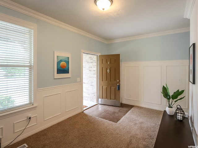 Entry and Front Room