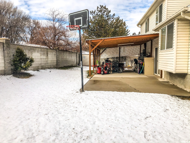 Cover Patio, Basketball court