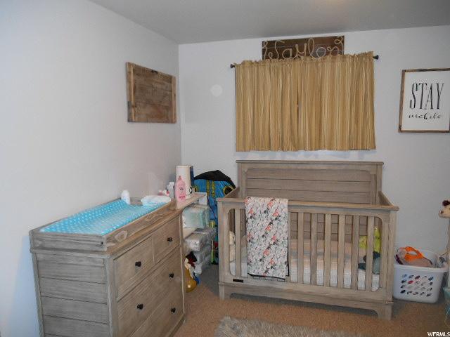 Nursery off main bedroom