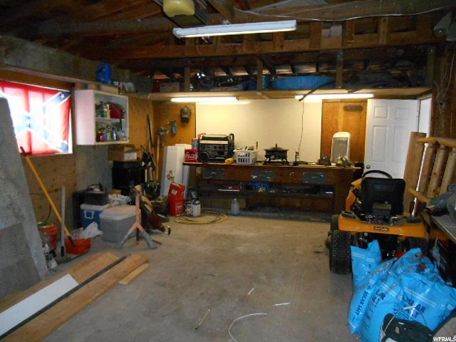 Inside of shop/Garage