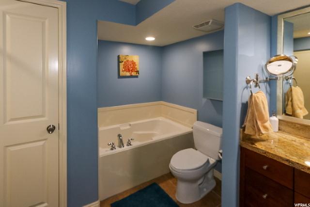 Master Bath w/Closet