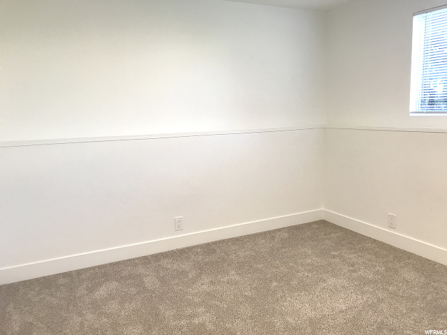 Another bright basement bedroom