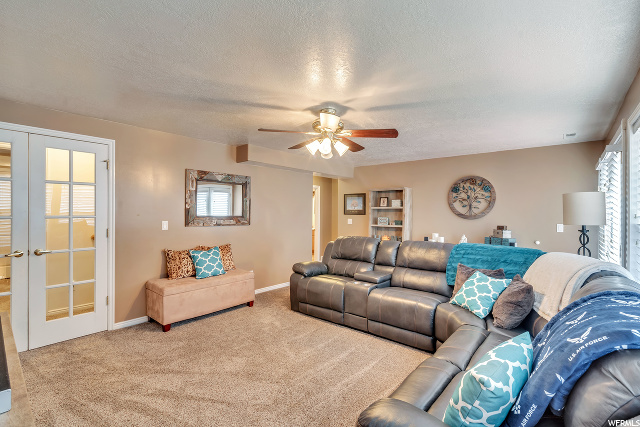2nd Family Room - located in Basement