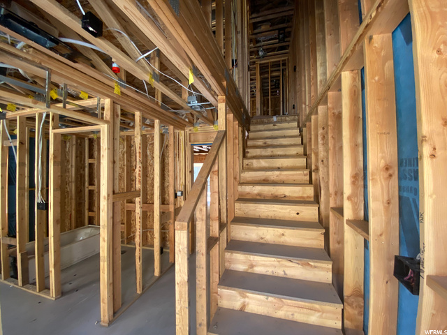 Entryway/Stairwell: Construction Progress