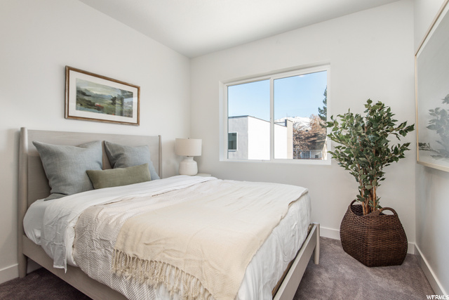 Secondary Bedroom - Level 2: Similar Unit Shown