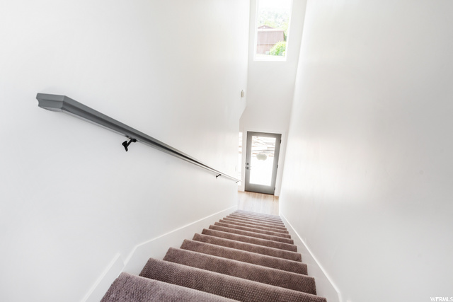 Entry - Stairs lead to bedroom level