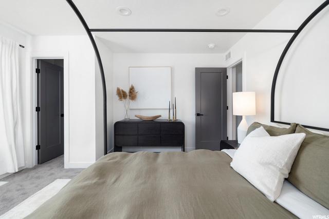 Master Bedroom - Level 3: Similar Unit Shown