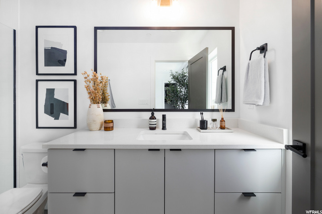 Master Bathroom - Level 3: Similar Unit Shown
