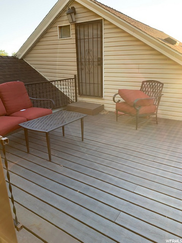 Large view deck