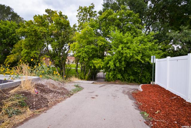 Path to Barnett Elem. right from this development