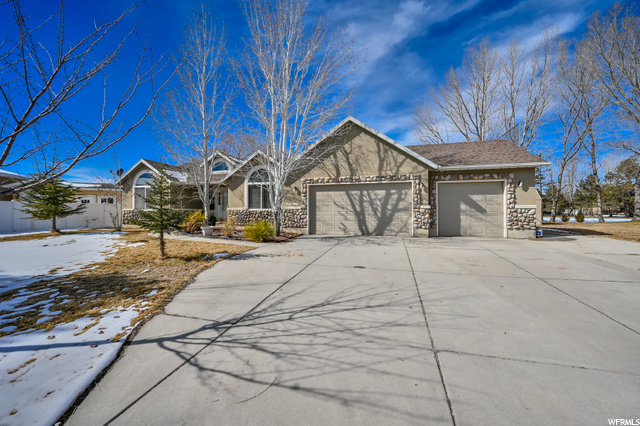 ** PLEASE READ ATTACHED SHOWING & OFFER INSTRUCTIONS** This single family home is located in South Jordan in a quiet neighborhood right outside of Daybreak in a semi cul de sac. Enjoy easy backyard access to Glenmoor Golf Course. No backyard neighbors giving great privacy. Main level primary bedroom with 2 additional bedrooms, mud room, 3-car garage with RV parking. Walk out basement with the potential for second kitchen or rentability. All new carpet in the basement. This home does need work and will not FHA and you need to have enough down payment to have a strong conventional offer. Cash offers and investors preferred. A lot of great fix and flip potential with $700k comps. Check out 3D tour and scheduled an appointment!