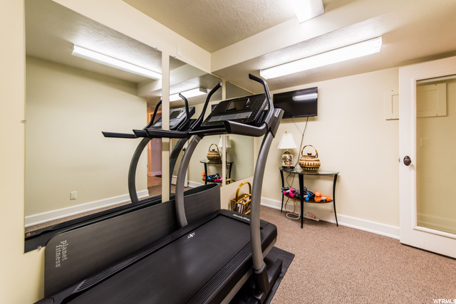 Exercise room downstairs