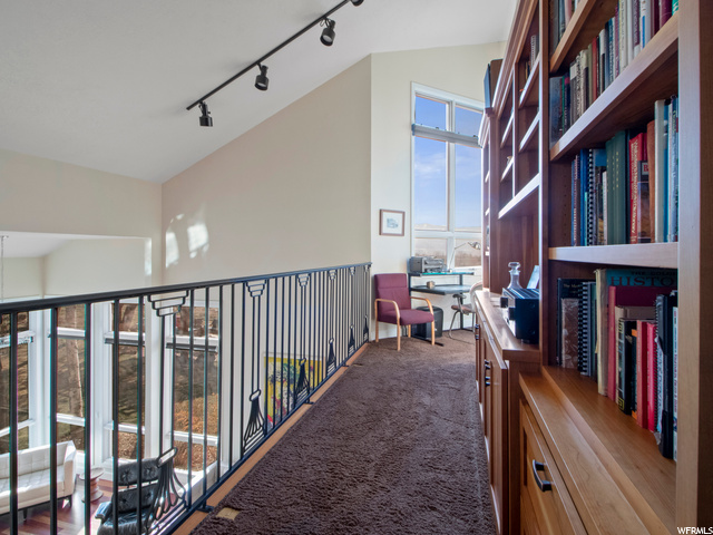 Loft library and second office space