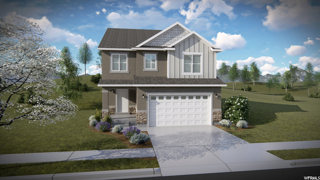 Quailhill at Mt. Saratoga is a fantastic community featuring single family homes, townhomes, and condos. Mt. Saratoga is a master-planned community that will feature future parks, trails, and open space. Quailhill is in close proximity to Utah Lake, The Ranches Golf Club, stores, and restaurants. Easy access to Pioneer Crossing also allows for an easy commute. JADEN FLOOR PLAN.