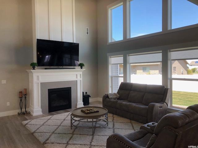 Amazing windows and gas fireplace