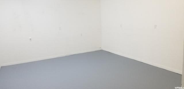Large, Large Finished Storage Area